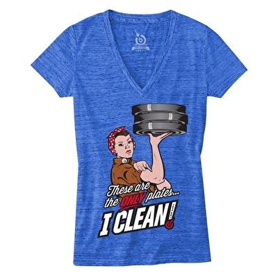 LifeASRX Cleaning Plates V-Yaka Tshirt